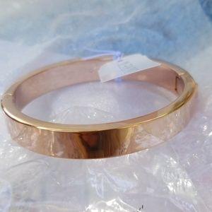 Stunning rosegold J. Crew hinge bracelet